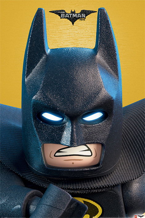 Lego Batman - Close Up Plakát