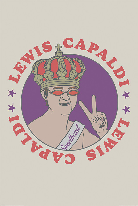 Lewis Capaldi - Sweetheart Plakát