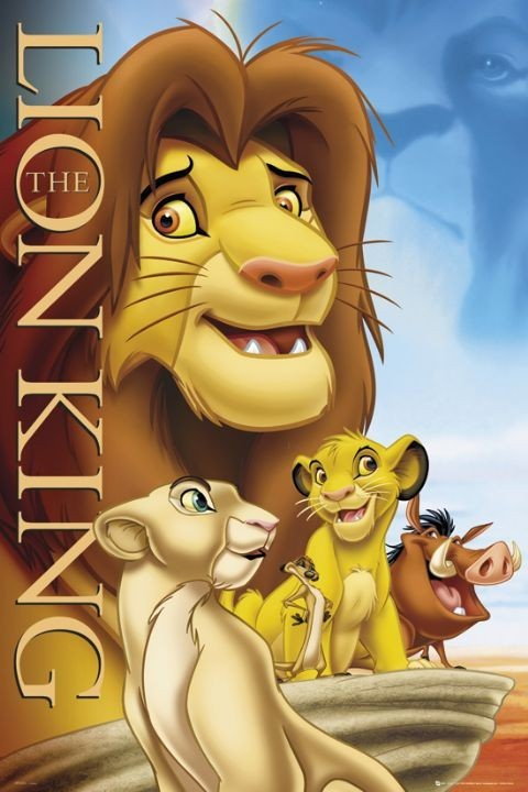LION KING - cover Plakát