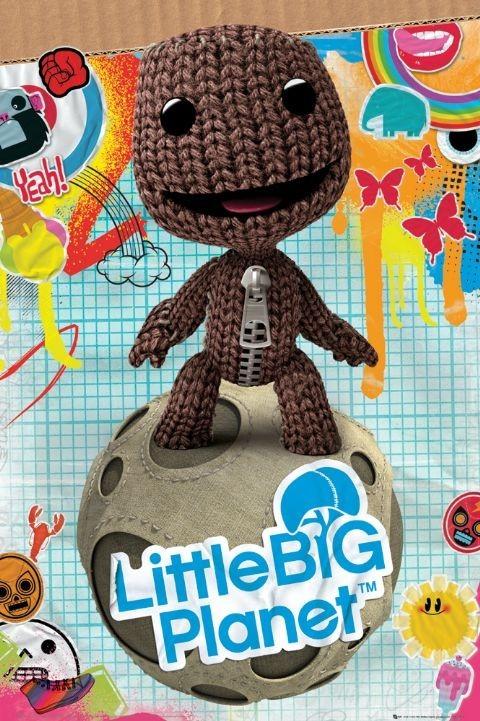 Little big planet - sackboy  Plakát