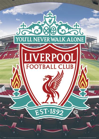 Liverpool - football crest Plakát