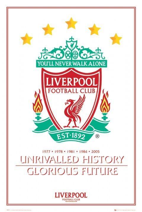 Liverpool - unrivalled history Plakát