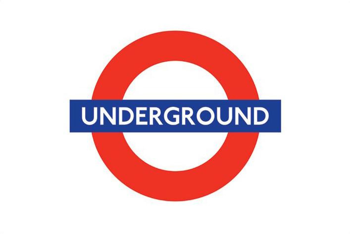 London underground - logo Plakát
