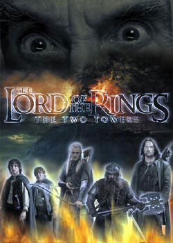 Lord of the Rings - Saruman eyes Plakát