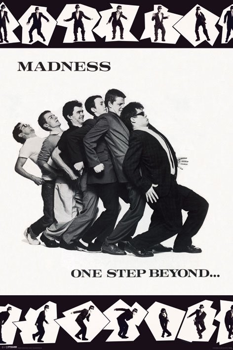 Madness - one step boyond plakát