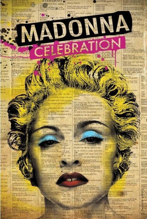 Madonna - celebration Plakát