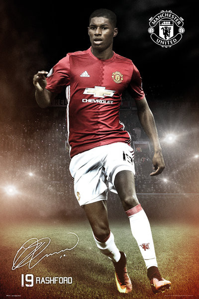Mancherster United - Rashford 16/17 Plakát