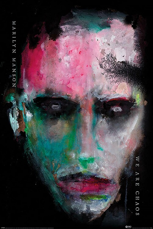 Plakát Marilyn Manson - We Are Chaos