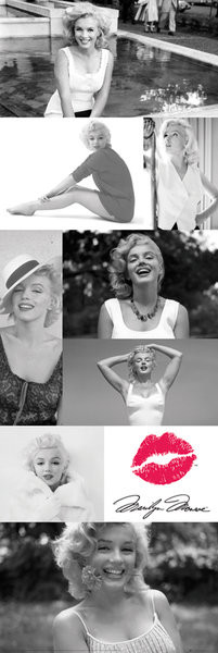 Marilyn Monroe - Tiles plakát