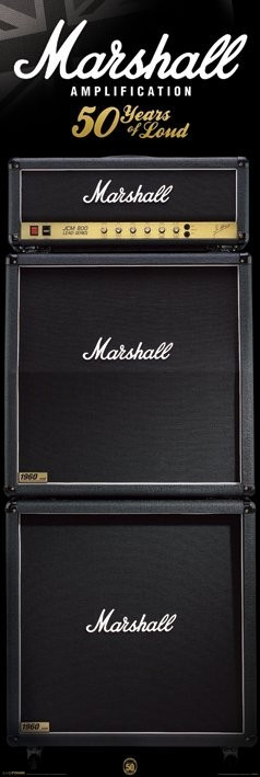 Marshall Stack Plakát