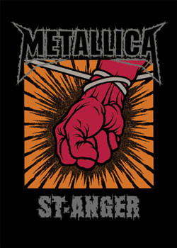Metallica – St. Anger plakát
