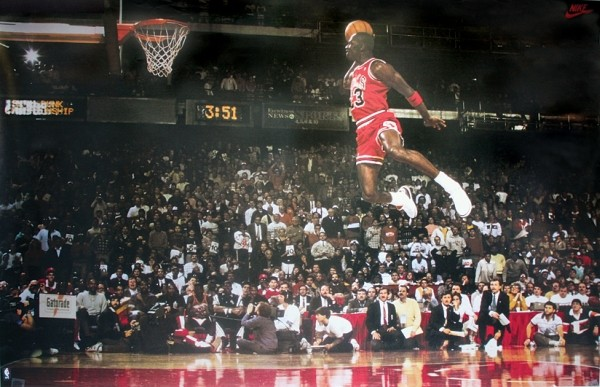 Michael Jordan - Slam Dunk Contest Plakát