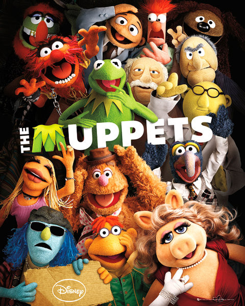 MUPPETS - teaser Plakát