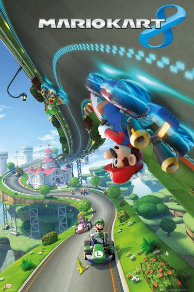 plakat kart Nintendo   mario kart 9 Plakátok, Poszterek az Europoszters.hu plakat kart