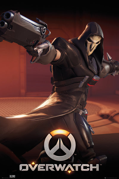 Overwatch - Reaper Plakát