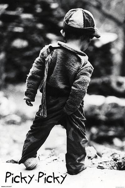 Picky Picky - Small boy Plakát