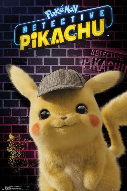 Pokemon: Pikachu, a detektív Plakát