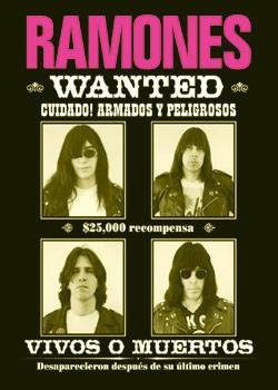 Ramones - wanted Plakát