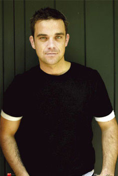 Robbie Williams - t-shirt Plakát