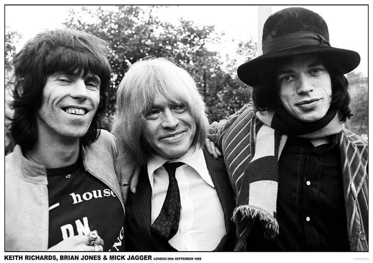 Plakát Rolling Stones - London 1968