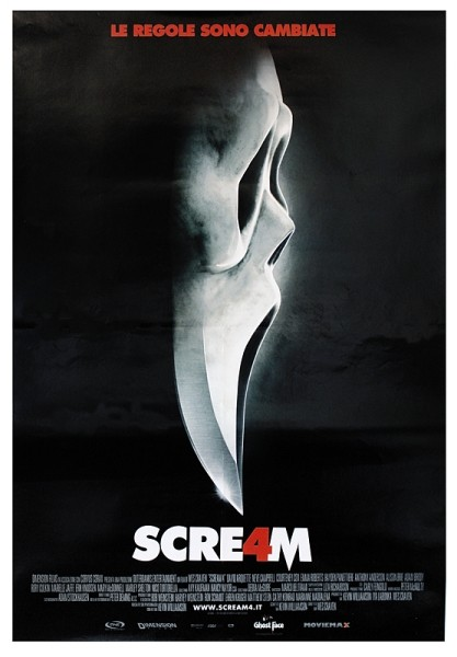 SCREAM 4 - SIKOLY 4 teaser Plakát