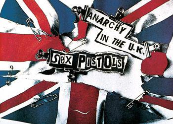 Sex Pistols - anarchy Plakát