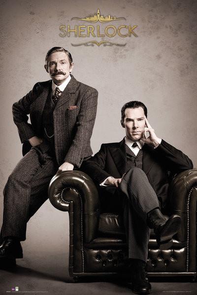 Sherlock - Victorian Plakát