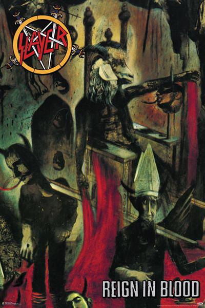 Slayer - Reign in blood Plakát