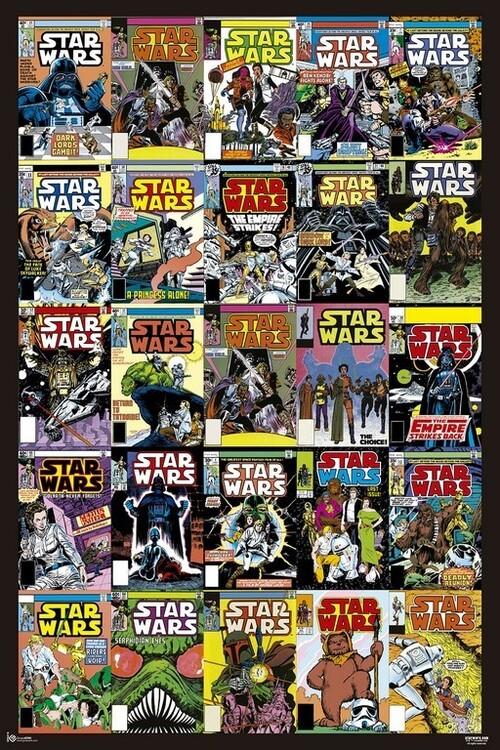Plakát Star Wars - Covers