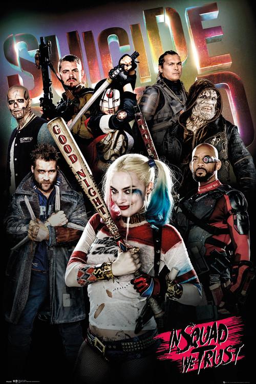 Suicide Squad – Öngyilkos osztag  - In Squad We Trust Plakát