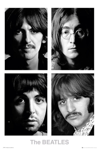 The Beatles - White album Plakát