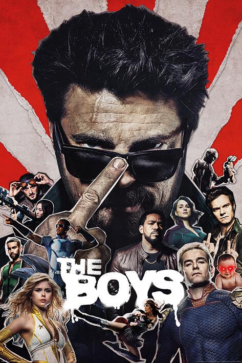 The Boys - Sunburst Plakát