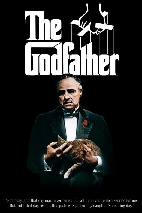 Image result for the godfather trilogy poster