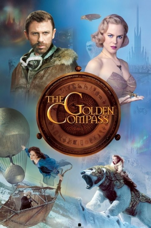 THE GOLDEN COMPASS - cast Plakát
