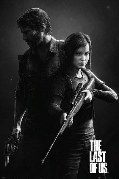 The Last Of Us - Black and White Portrait plakát