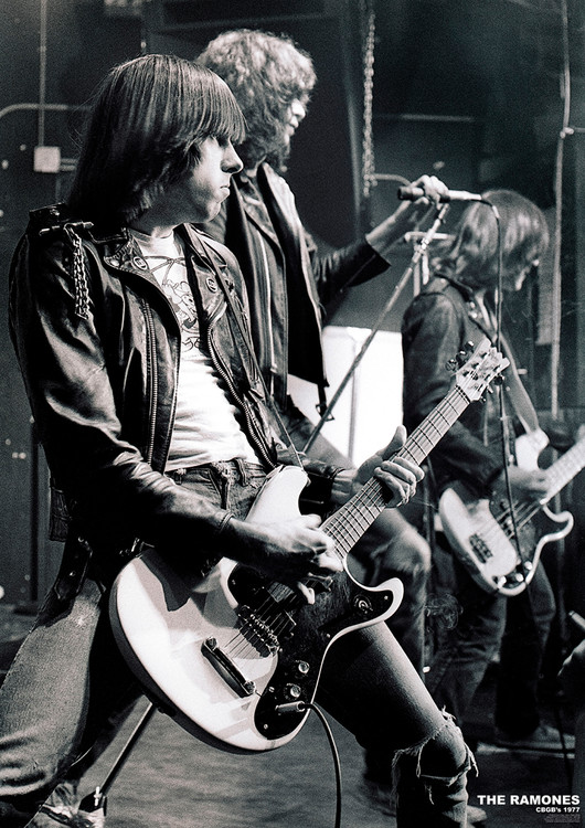 The Ramones - C.B.G.B.'S NYC 1977 Plakát