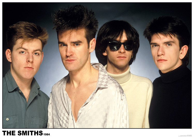 The Smiths 1984 Plakát