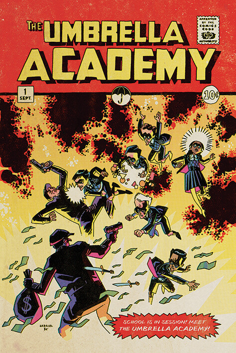 The Umbrella Academy - School is in Session Plakát