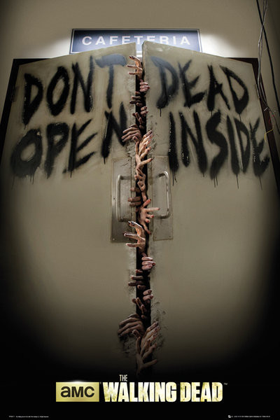 THE WALKING DEAD - Keep Out Plakát
