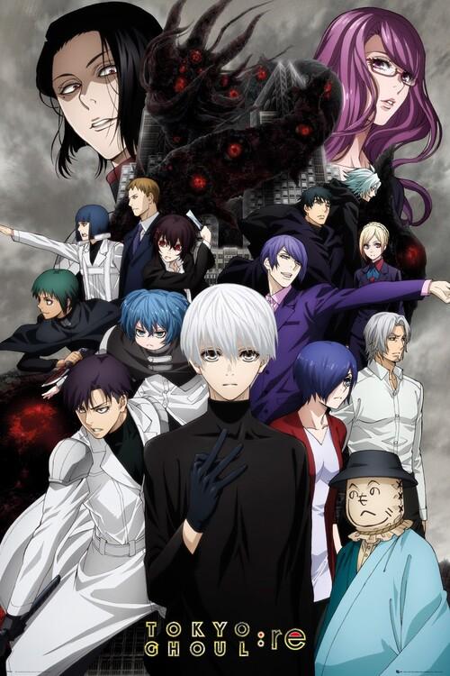 Tokyo Ghoul: RE - Key Art 3 Plakát