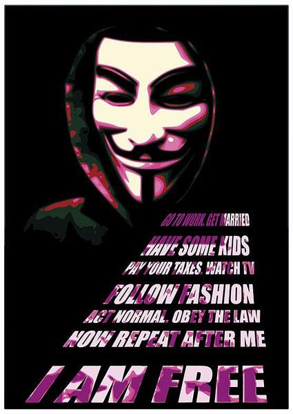 V mint vérbosszú - Mask Plakát