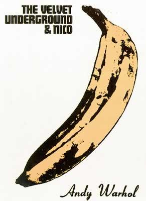 Velvet Underground - Andy Warhol Banana Plakát