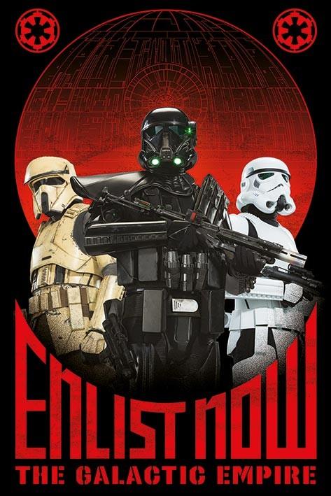 Zsivány Egyes: Egy Star Wars történet - Enlist Now Plakát
