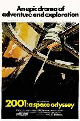 Plakát 2001: Vesmírná odysea