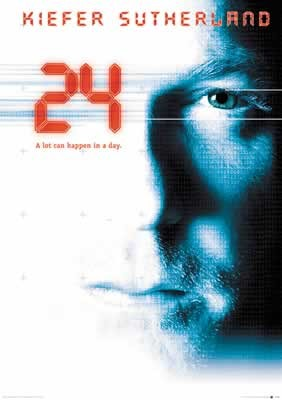 Plakát 24 - Kiefer Sutherland