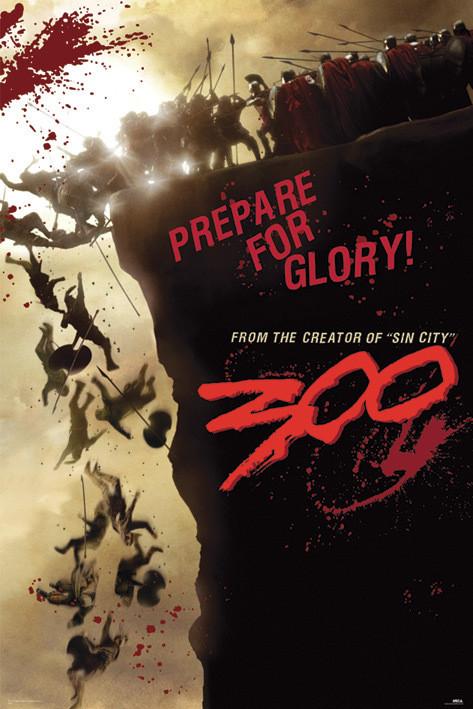 Plakat 300 - cliff