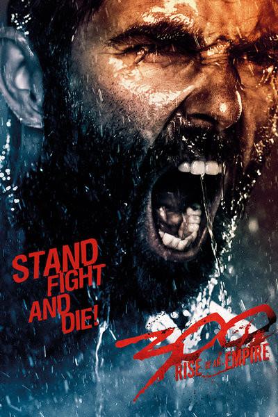 Plakat 300: POCZĄTEK IMPERIUM - fight & die