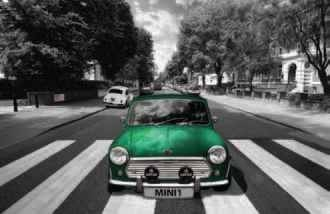 Plakat Abbey road - mini