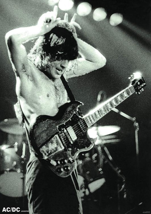 Plakát  AC/DC - Angus Young 1979