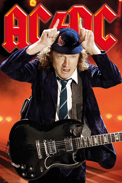 Plakát AC/DC - Live